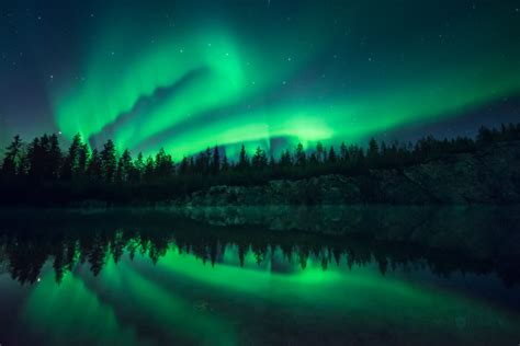northern lights that photographed in finland by joni