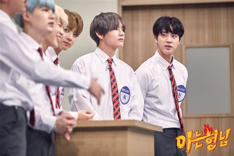 bts knowing brother picture bts at knowing bros 170922