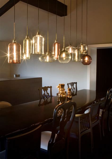 Lighting Dining Room Table Modern Pendant Lighting For Your Kitchen Traba Homes