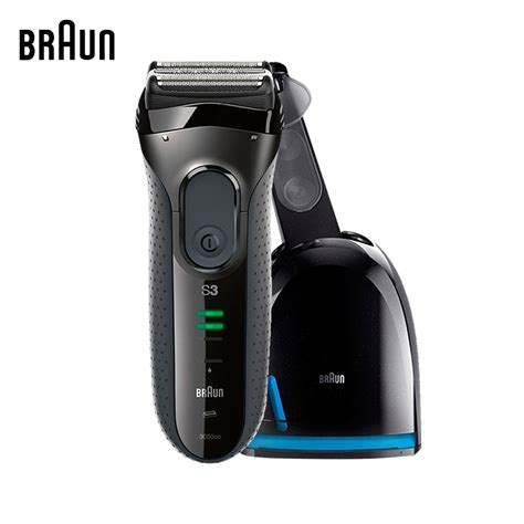 automatic blades braun electric shavers 3050cc electric razors washable
