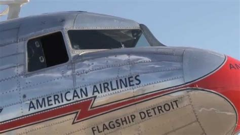 Air Lines 3 by Flight On American Airlines Dc 3