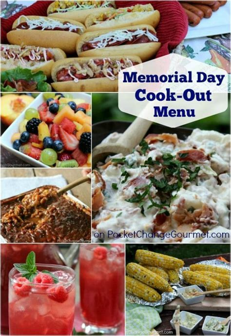 Cpwm Memorial Day Bbq Menu by Cook Out Memorial Day And Cookout Menu On