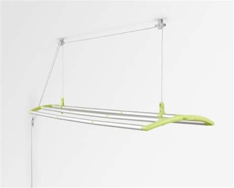 Ceiling Laundry Rack by Lofti Ceiling Mounted Laundry Drying System Lime Green Patio Lawn Garden Ceiling