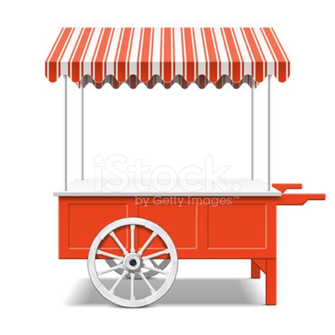 red farmer's market cart stock vector freeimages.com