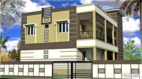 2 south indian house exterior designs home kerala plans