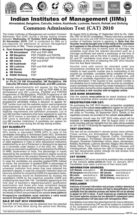 Cat Syllabus For Mba by Details About Cat Like Syllabus Paper Pattern Etc Mba