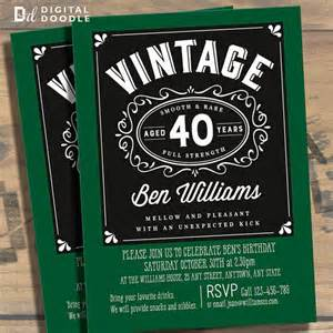 40th birthday party invitations for men dolanpedia
