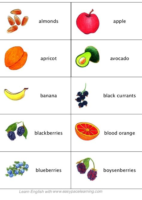 d fruit names learning fruit berries and vegetables lesson by