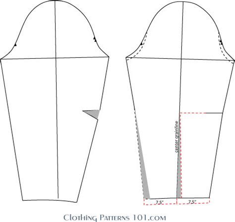 pattern drafting glossary how to draft a basic blouse