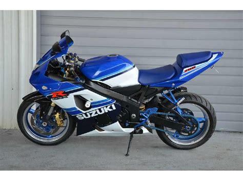 2005 Suzuki Gsx R750 2005 Suzuki Gsx R750 20th Anniversary Edition For Sale On