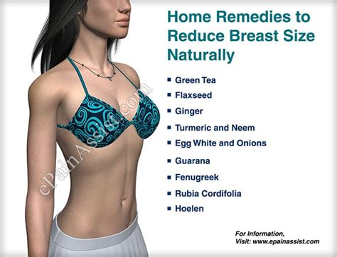 causes of bigger breast home remedies diet