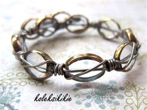 Cara Membuat Gelang Wire | membuat d i y do it yourself
