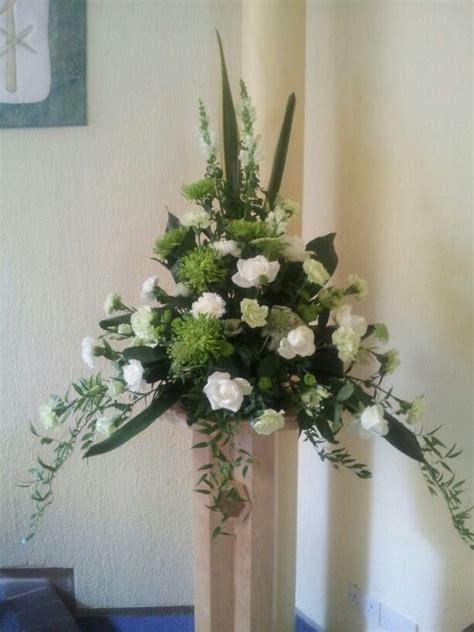 Church Flower Arrangements Pedestal Pedestal And Church On Pinterest