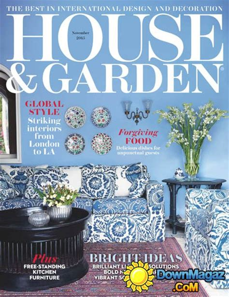 house and garden magazine house and garden uk november 2015 187 download pdf magazines magazines commumity