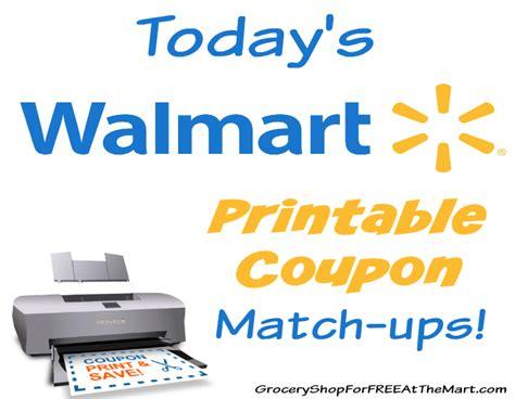 walmart salon coupon today s walmart printable coupon matchups grocery shop