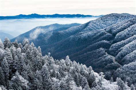 Celebrate Winter Magic In The Great Smoky Mountains In A Charming Rustic Cabin In Gatlinburg Tennessee Fashiontribes Travel by How To Save When Visiting National Parks In The Usa
