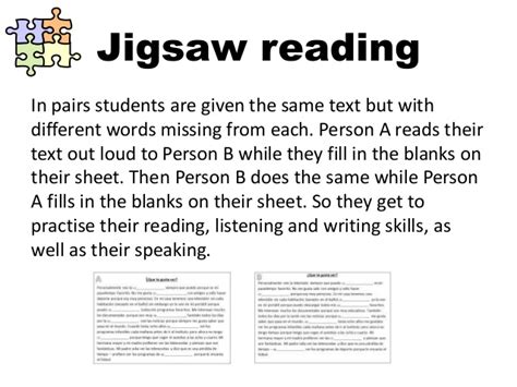 Jigsaw Reading Activities Worksheets all worksheets 187 jigsaw reading activities worksheets