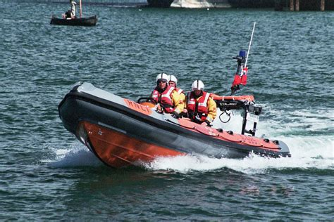 speed boats for sale pembrokeshire fishguard lifeboat aids crew of capsized catamaran the