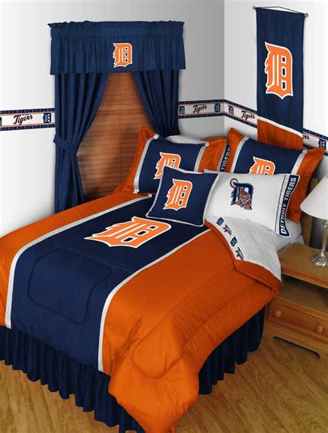 Detroit Tigers Comforter by Detroit Tigers Bedding Set Mlb Baseball Comforter