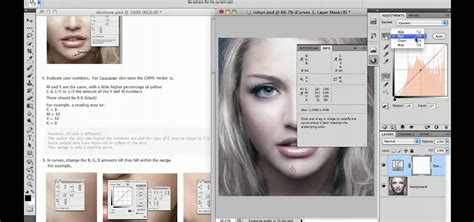 tutorial photoshop cs5 step by step how to adjust skin tones when retouching in photoshop cs5