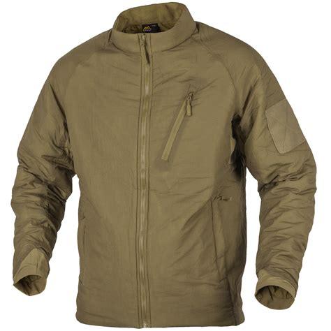 11 Jaket Light Helikon Wolfhound Light Insulated Jacket Coyote Soft
