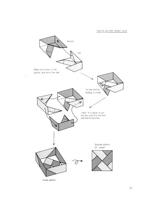 Origami Box Diagram - origami boxes tomoko fuse book