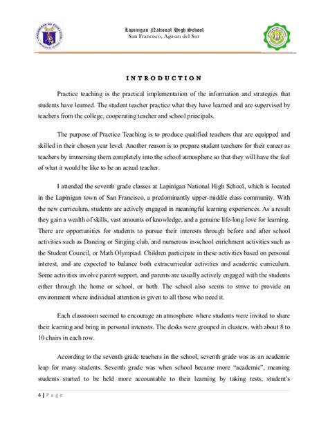 Narrative Report Letter Sle Sle Introduction For Narrative Report 28 Images Introduction For Narrative Report At