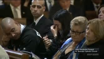 pallbearers wear jose fernandez s jersey for his funeral