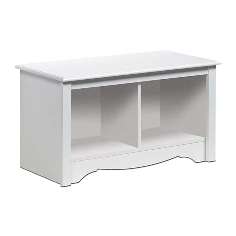 white indoor bench shop prepac furniture monterey furniture white indoor