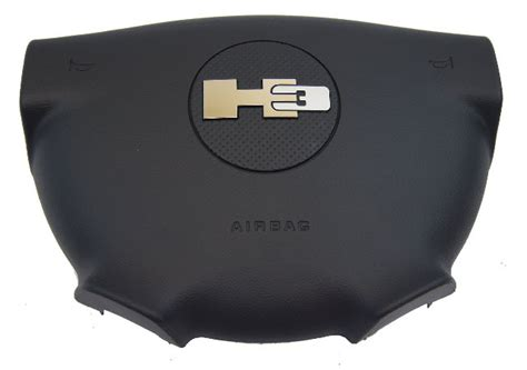 hummer  steering wheel airbag air bag ebony  oem
