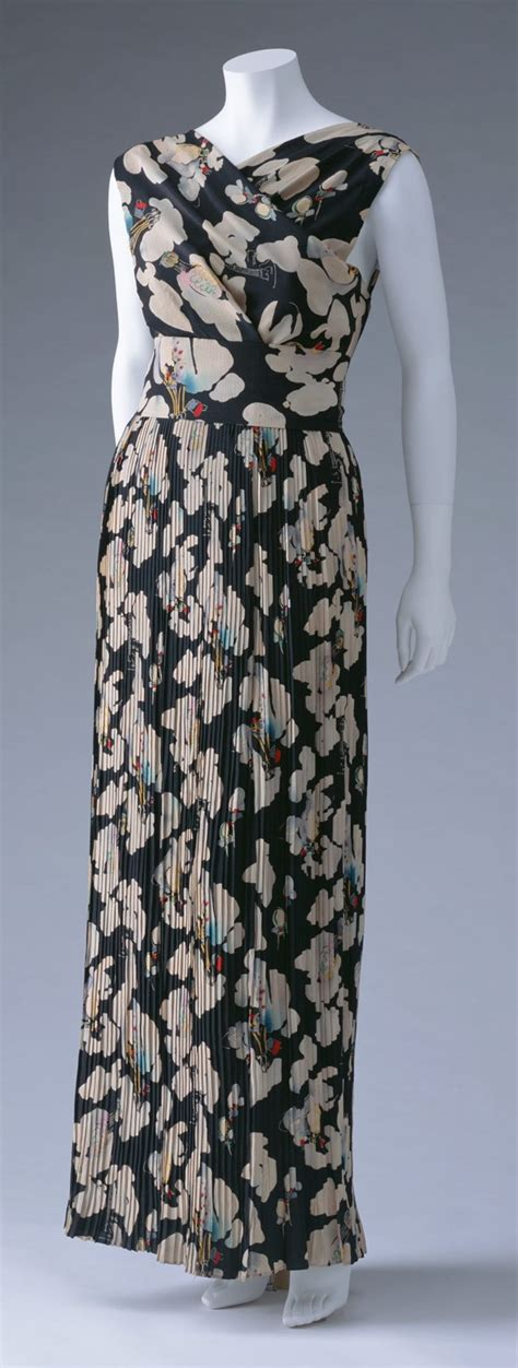 Dress Vintage Motif Print Burung 618 best images about elsa schiaparelli on