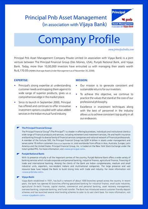 company profile template pdf best photos of exles of company profile template