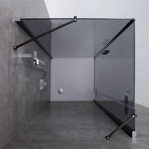 Duschen In Badewanne 1005 by Awt Dusche Duschabtrennung Lbs1005 B Schwarz 100x100 Links