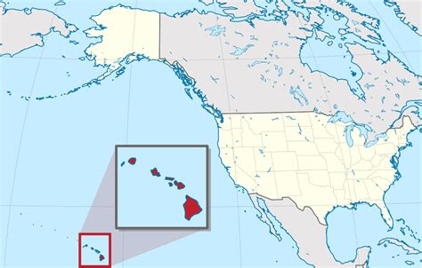 map of hi hawaii