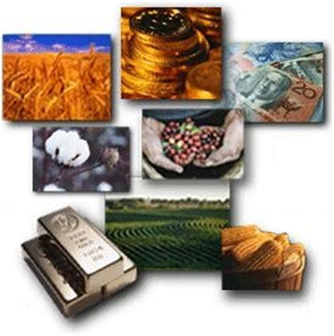the commodity futures market accumulating money