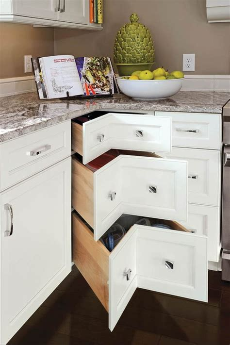 corner kitchen cabinet storage ideas 20 practical kitchen corner storage ideas shelterness