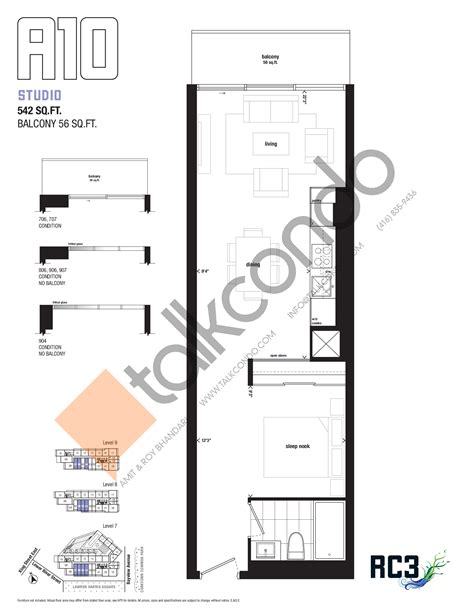 River Sound Condo Floor Plan by River City Phase 3 Rc3 Condos Talkcondo