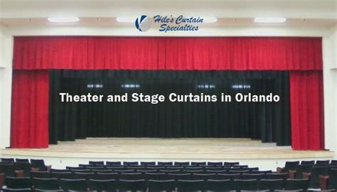 curtains orlando stage curtains in orlando hiles curtains specialties