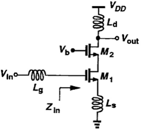 terminated with resistors and source degeneration lna terminated with resistors and source degeneration lna 28 images schematic of cascode lna