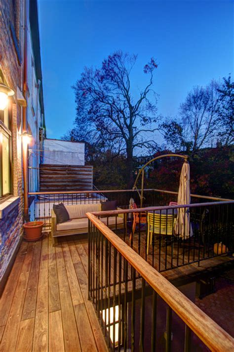 park slope brownstone traditional deck new york by
