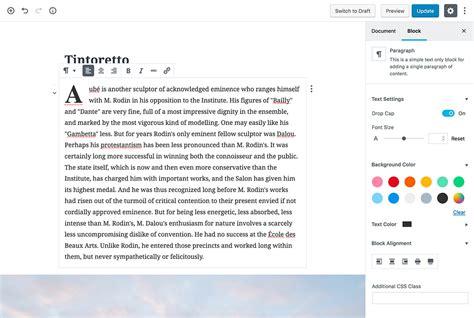 Wordpress Layout Blocks | block theme a wordpress theme created using gutenberg blocks