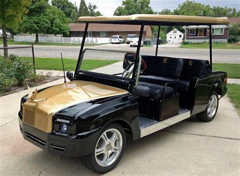 Rolls Royce Golf Cart rolls golf cart golf carts golf carts