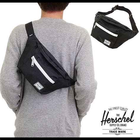 Herschel Supply Hip Back Small mischief rakuten global market black herschel supply