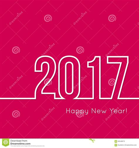 creative happy new year stock vector image 66548973