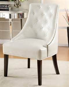 dining room chairs white leather ike lounge chair white finish modern dining