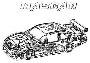 nascar coloring page amp coloring book