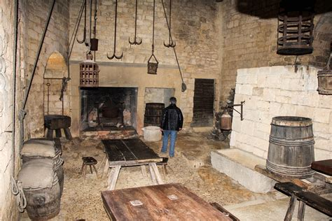 Castle Kitchen by Winter Pics From Beynac Dordogne Cooking In