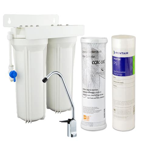 Aliexpress Com Buy Household Dual Undersink Water Filter Water Filtration System For Kitchen Sink