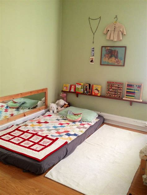 floor beds montessori floor bed m o n t e s s o r i pinterest
