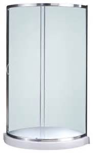 b14 glass shower kit 36 base only modern